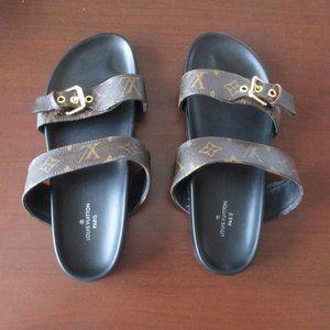 Louis Vuitton Bom Dia Sandals 42 Monogram